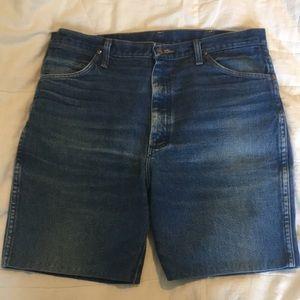 Vintage Wrangler Custom denim shorts